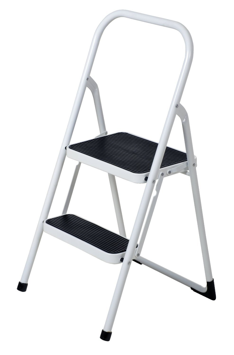 Above Edge AE2065 2 Steps Folding Lightweight Ladder, Stool for Home & Office Use