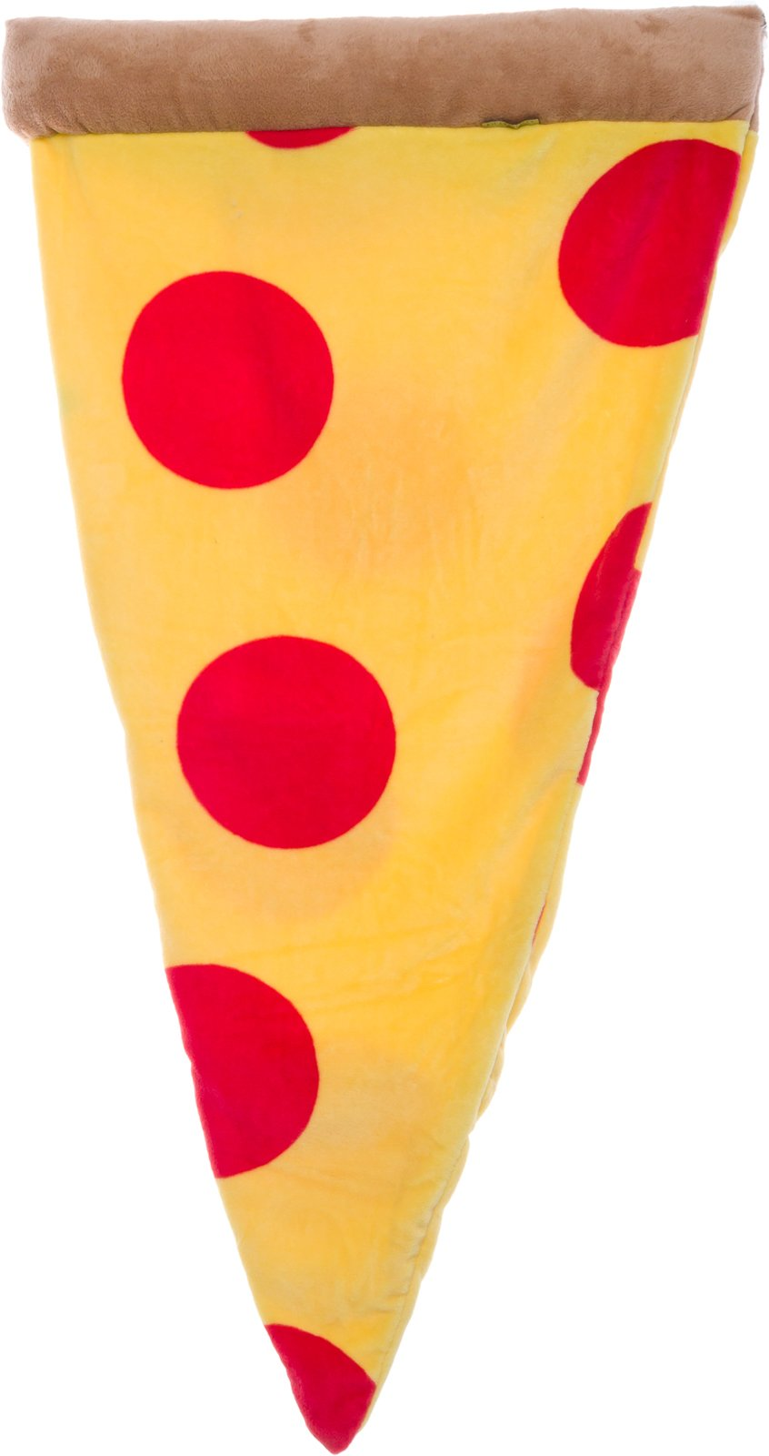 Silver Lilly Pizza Sleeping Bag - Plush Fleece Giant Pizza Slice Blanket for Kids and Adults by (Adult) by Silver Lilly (Image #2)