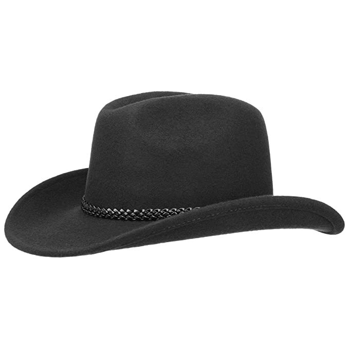 Lipodo Cowboy Hat Men Women Made In Italy Western Hat Made Of 100 Wool Felt Rodeo Hat With Leather Band Summer Winter Felt Hat