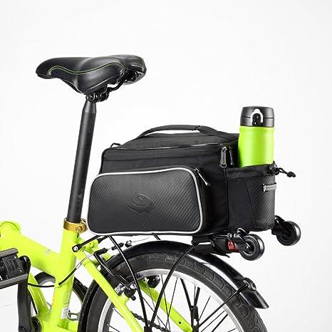 VertAst Bolsa de alforjas de multifunción para ciclismo, bicicleta, bicicleta (recorrido de hombro de bastidor al aire libre) 10L CS79 cs79 10L: Amazon.es: Electrónica