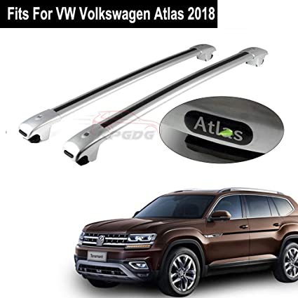 For VW Volkswagen Atlas 2018 2019 Crossbars Baggage Luggage Roof Rack Rail Bar