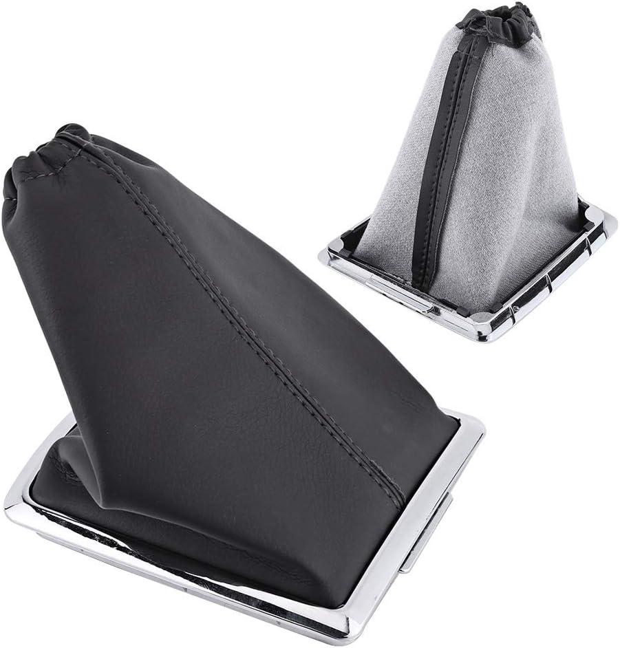 Remplacement de cache anti-poussi/ère en cuir PU de botte de levier de vitesse de botte Gaiter pour Ford Focus 2005-2012