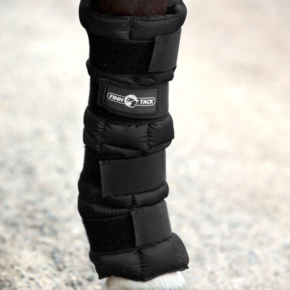 Horze Finntack Pro冷却ラップ療法Horse Boot 1つサイズブラック
