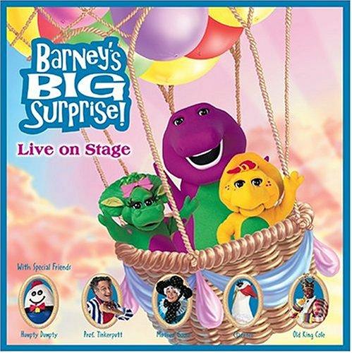 Barney's Big Surprise by Koch Records