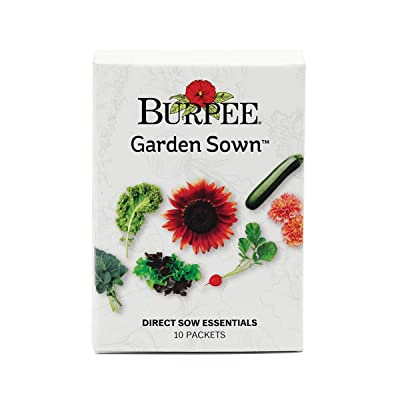Burpee Garden Sown | 10 Packets of Direct Sow Essential, Seeds for Planting: Garden & Outdoor