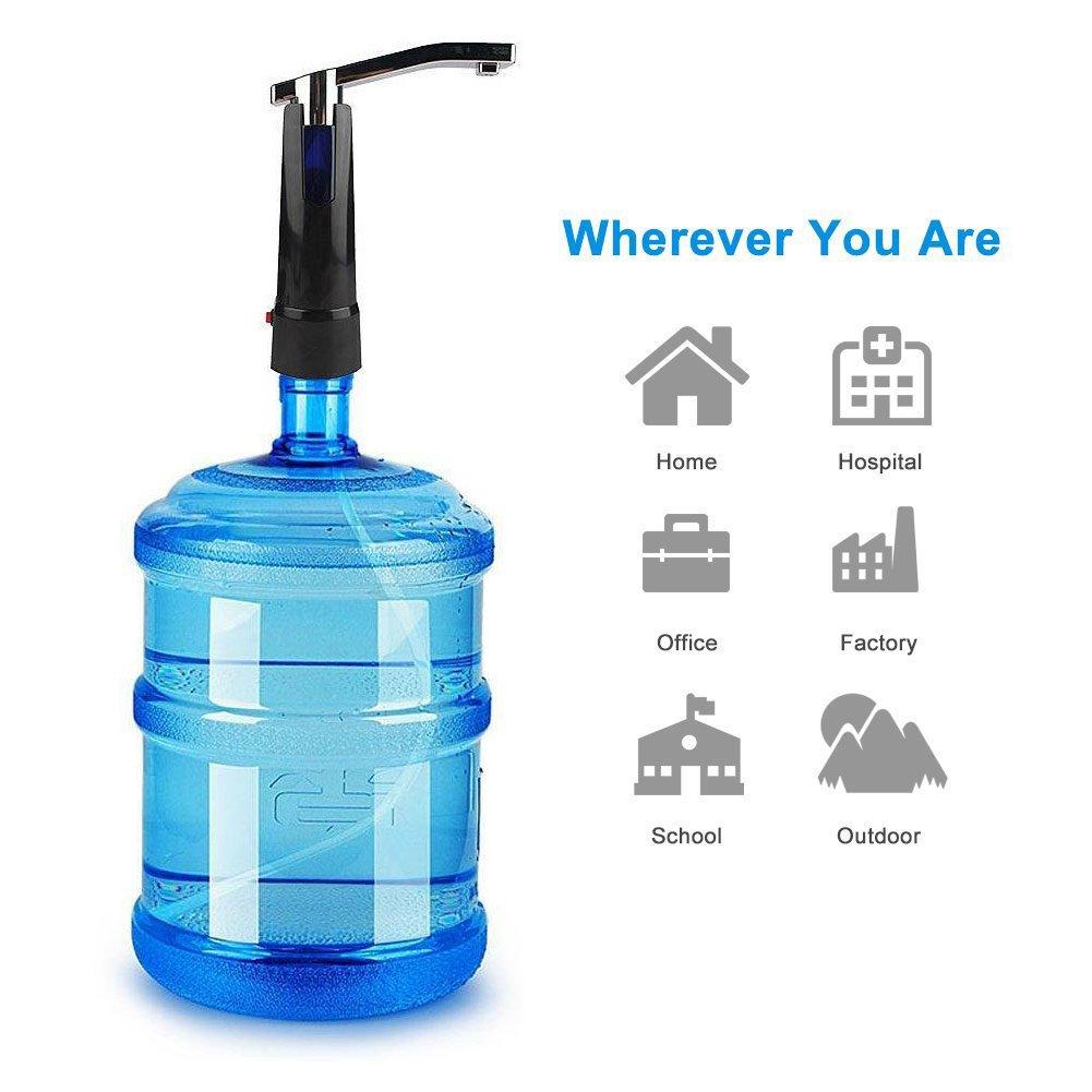 Dulcii Universal Wireless Automatic Electric Drinking Water Pump Gallon Bottle Water Pump Dispenser Switch