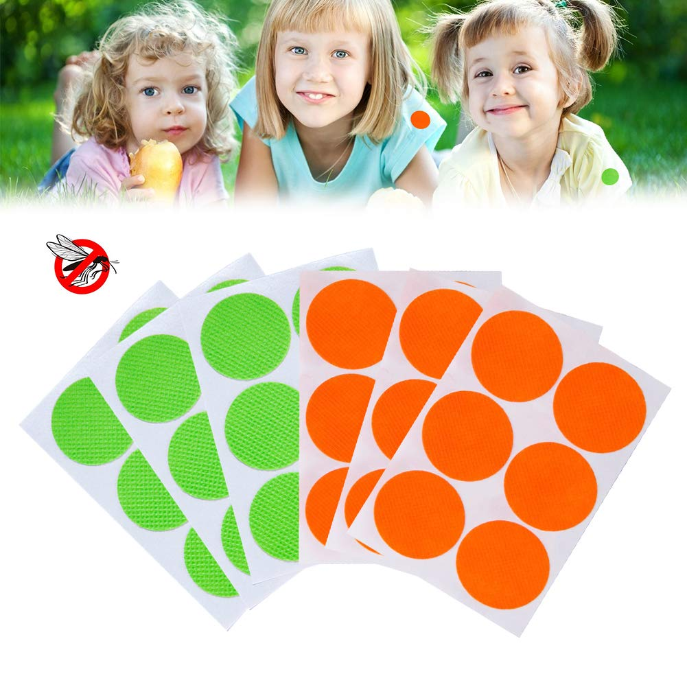 Natural Mosquito Repellent Patches Effective Protection for 12-24 Hours Natural Ingredients Insect Repellent Suitable for Children and Adults 60pc Mosquito Repellent Stickers