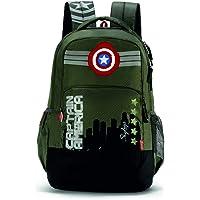 Skybags SBMarvel07 31 Ltrs Olive Casual Backpack  (SBMRV07EOLV)