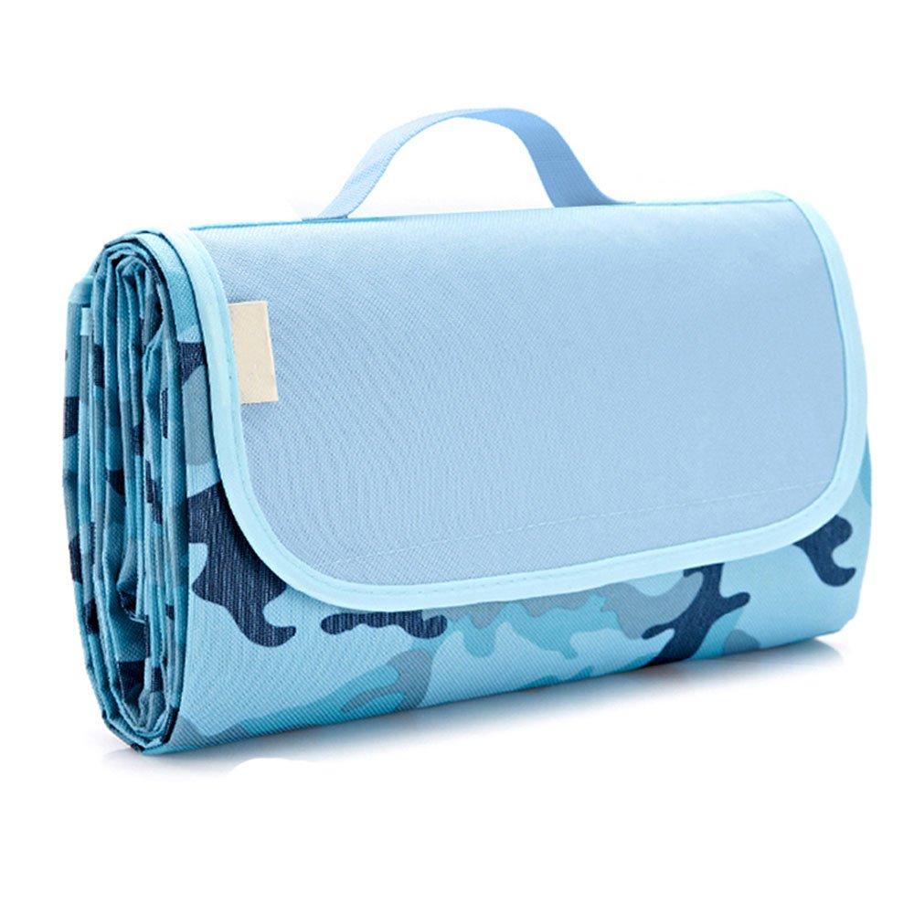 Picknickdecke im Freien Freien Freien mit wasserdichtem Kissen - 180  145 cm Strand-Teppich-Matte - faltend und tragbar für Strand, Reise, Feiertag, kampierend - Mehrfarben (Farbe   11 ) B07PJ91D9H | Billig ideal  2154a0