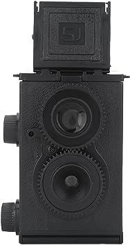 Vbestlife Cámara Original Diseño Retro Estilo Negro 35mm Duales ...