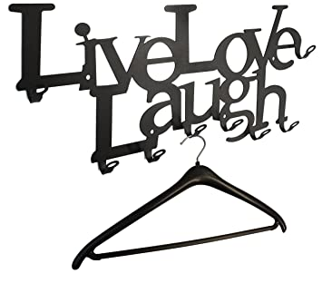 Live Love Laugh - - Perchero de Pared 58 cm - El Original ...