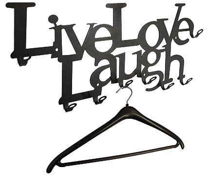 Live Love Laugh - - Perchero de Pared 58 cm - El Original ...