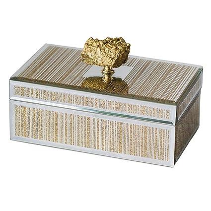 Caja de Almacenamiento de Joyas Organizador de Joyas Caja Decorativa ...