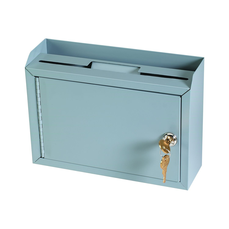 STEELMASTER Multi-Purpose Steel Drop Box, Gray (22258DBGY) by MMF Industries