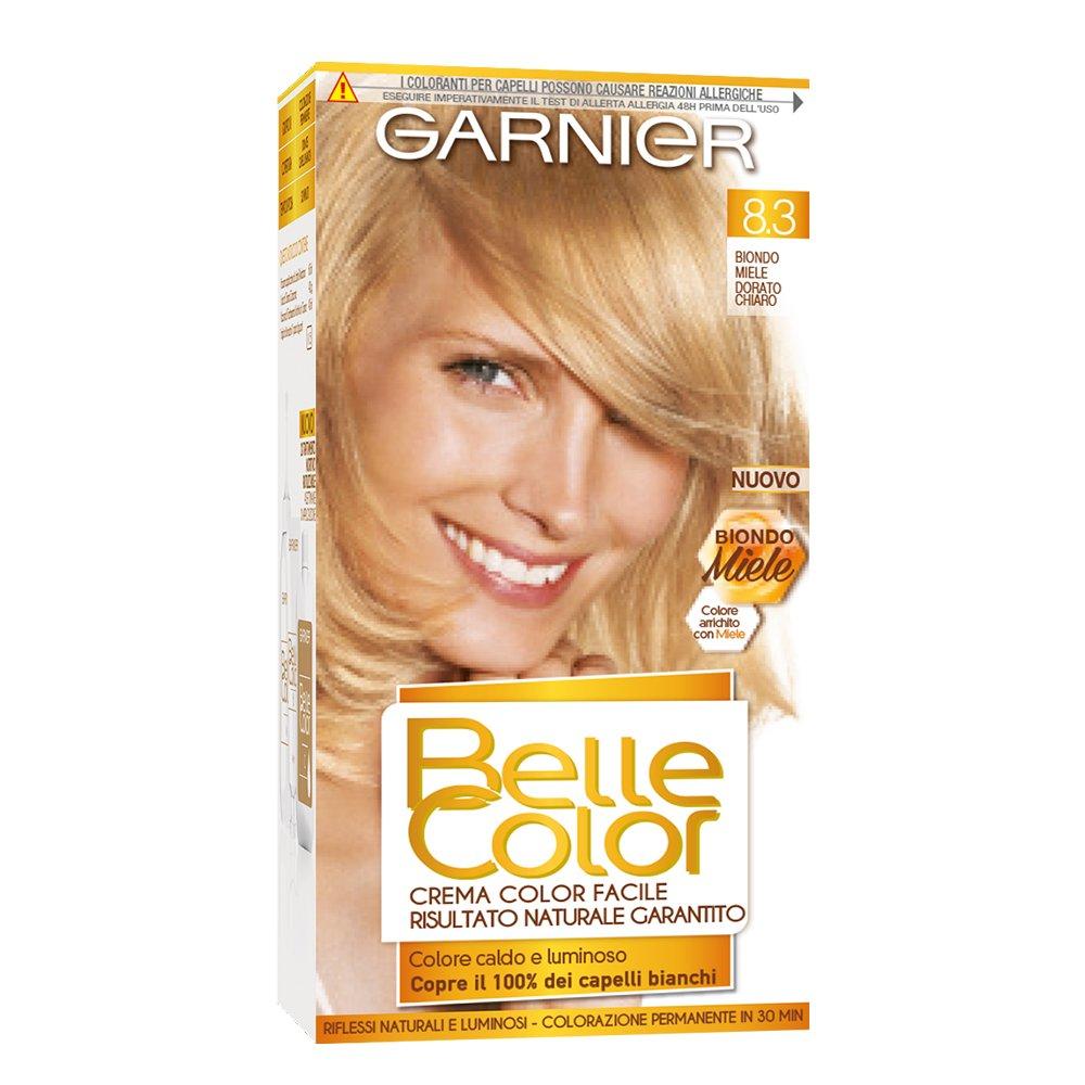Popolare Garnier Belle Color Biondo Miele Colore Permanente, 8.3 Biondo  IK27