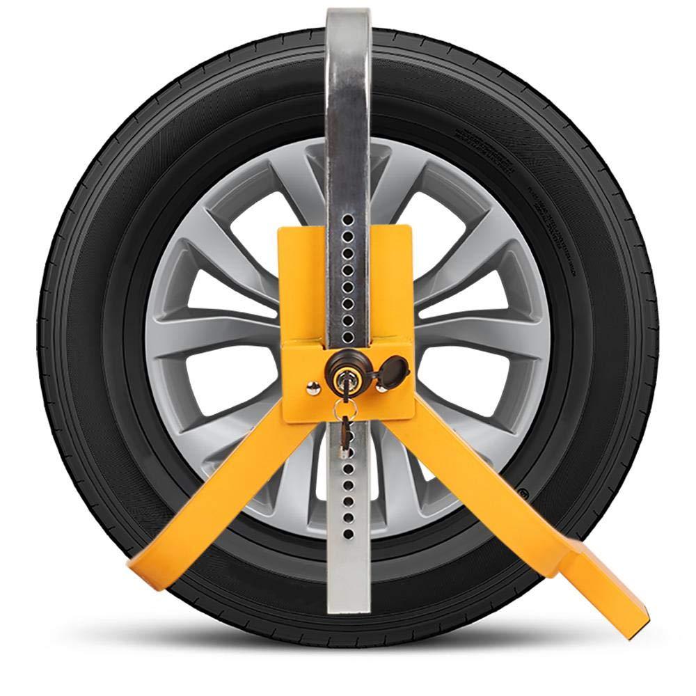 wido Car Caravan Van Mobile Motorhome Wheel Clamp Lock Trailer Anti Theft Security