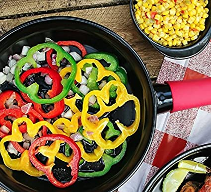 Amazon.com: Skillet - Xtrema 10 100% Ceramic Skillet/Frying Pan with Cover and Silicone Pot Holder: Xtrema Ceramic Cookware: Kitchen & Dining