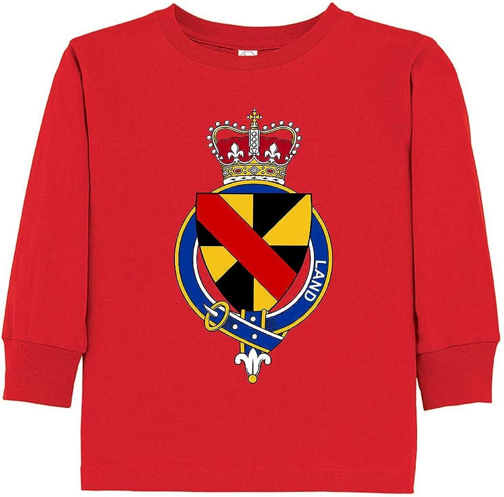 Tenacitee Toddlers English Garter Family Land Long Sleeve T-Shirt