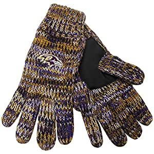 Amazon.com : Baltimore Ravens Peak Glove : Clothing