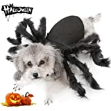 Dog Cat Spider Costume for Halloween Party Decoration, Halloween Cosplay Costumes for Small Dogs and Cat, Puppy Cat…