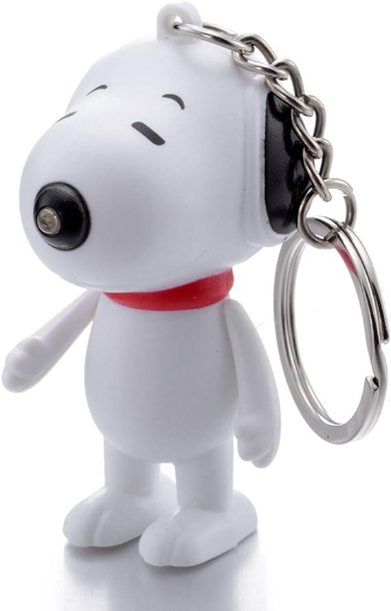 Heart KEYCHAIN Jewelry  Charlie Brown/'s Snoopy Beagle Dog Woodstock SNOOPY