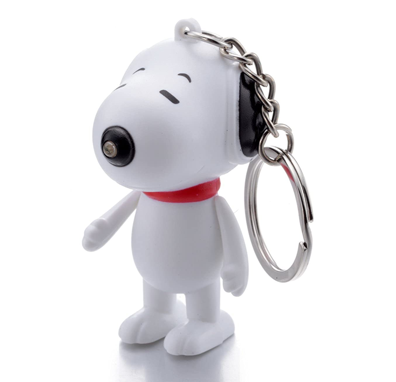 REINDEAR Snoopy LED Flashlight Light Up Keychain w/ Sound (Barks) US Seller