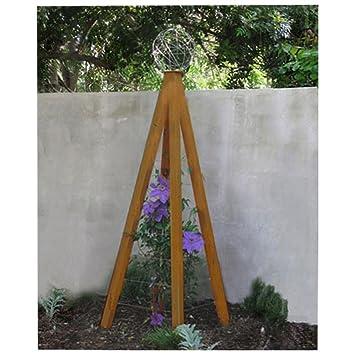 amazon com terra trellis akoris garden tuteur large oxide