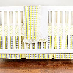 Simply Argyle 4 Piece Crib Set