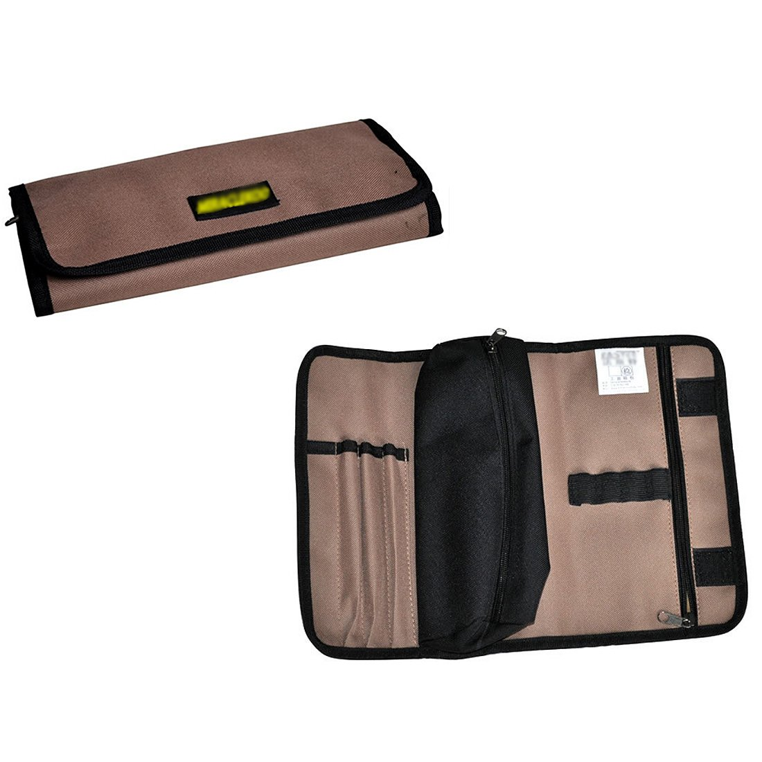 Miraclekoo Roll Multi-purpose Tool Pouch Rolling Tool Bag Multi Pockets Organizer by Miraclekoo