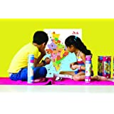 CocoMoco Kids India Map with Stickers