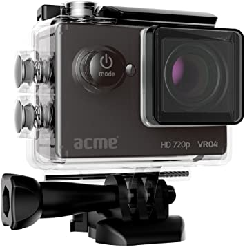 Acme Made VR04 5MP HD-Ready c/ámara para Deporte de acci/ón HD-Ready, 1280 x 720 Pixeles, 30 pps, AVI,M-JPEG, 720p, 5 MP C/ámara Deportiva