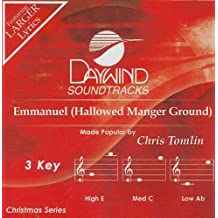 Emmanuel (Hallowed Manger Ground) [Accompaniment/Performance Track]