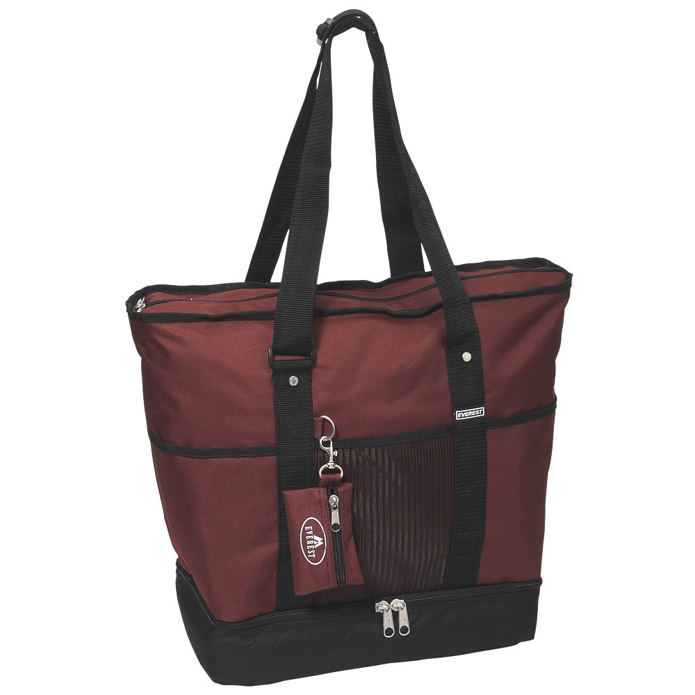Black Everest 1002DLX-BK Deluxe Shopping Tote One Size