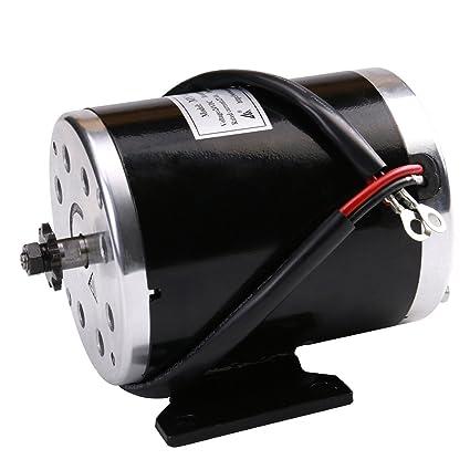 Amazon com: WPHMOTO 500W 24V DC Brushed Electric Motor for e