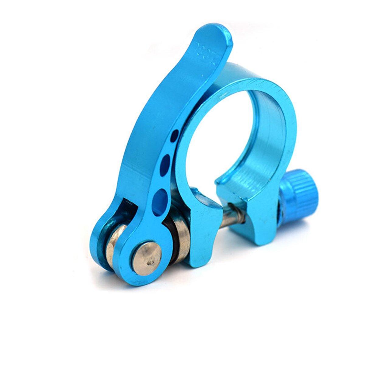 WINOMOアルミニウム合金サイクリングバイク自転車クイックリリースシートポストクランプ(ブルー) B073LSGD6W 28.6mm,Blue 28.6mm,Blue