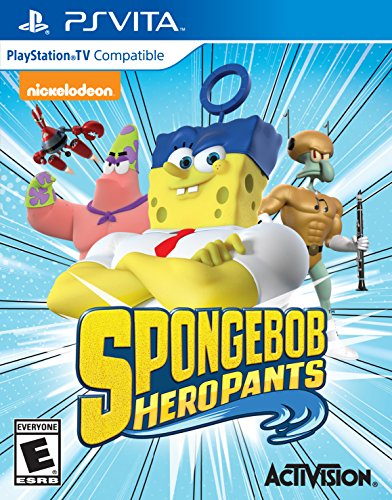 Spongebob Hero Pants The Game 2015 - PlayStation Vita (All Games For Ps Vita compare prices)