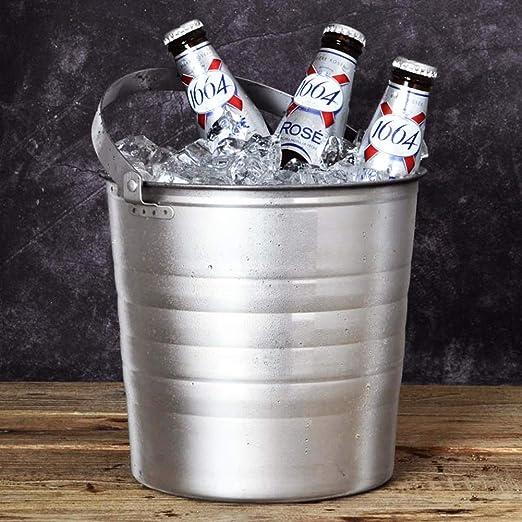 Compra YZBT-ice bucket Champán Vino Cubitera, Hogar Acero ...