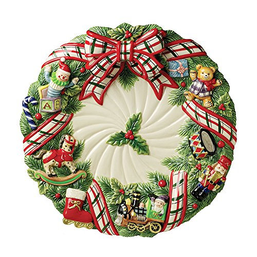 "Christmas Gifts 16.5"" Round Platter for sale  Delivered anywhere in USA"