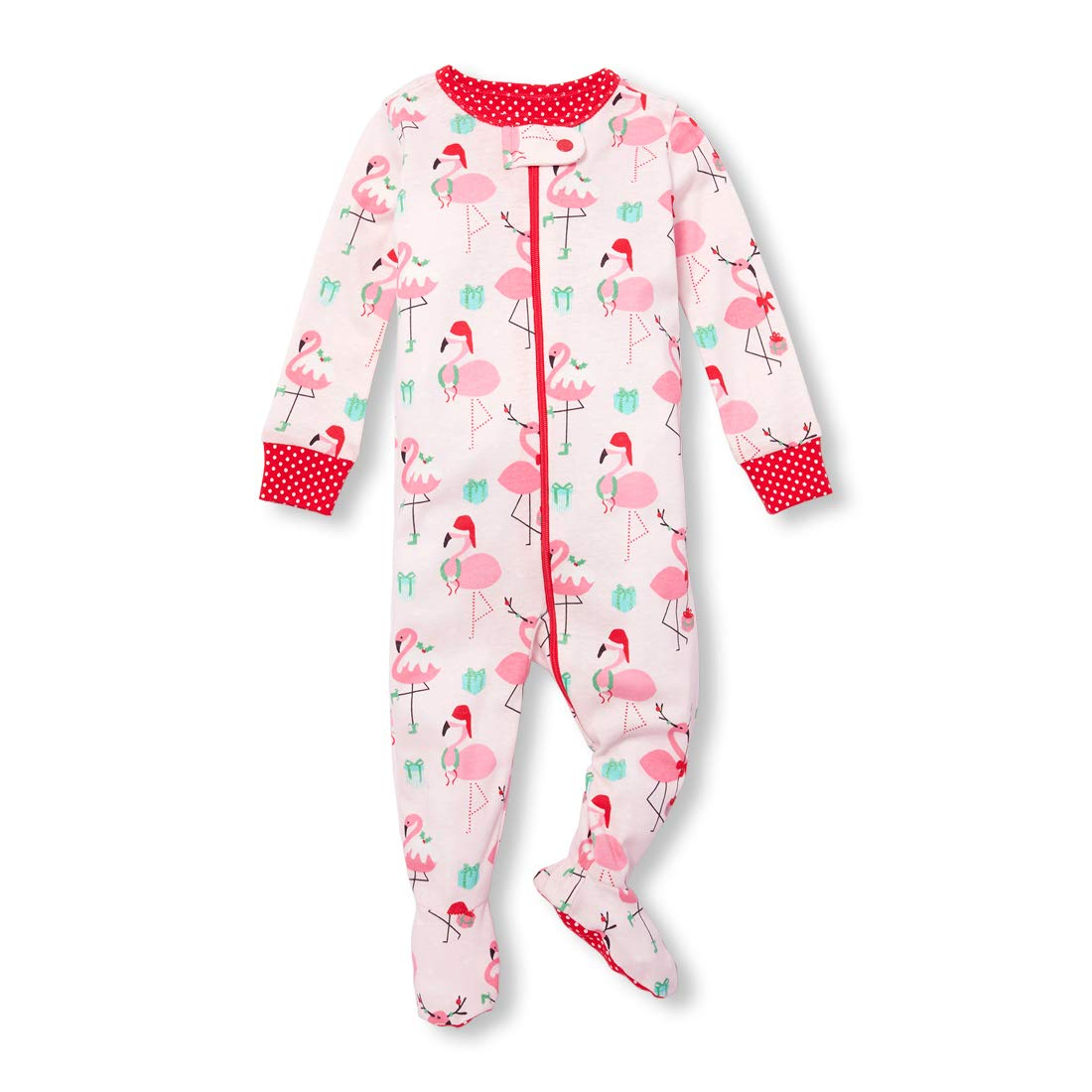 The Children's Place Girls Baby Christmas Stretchie The Children' s Place