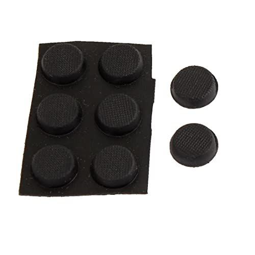 Protective Furniture Adhesive 11mmx4mm Nonslip Rubber Foot Pads 8 In 1