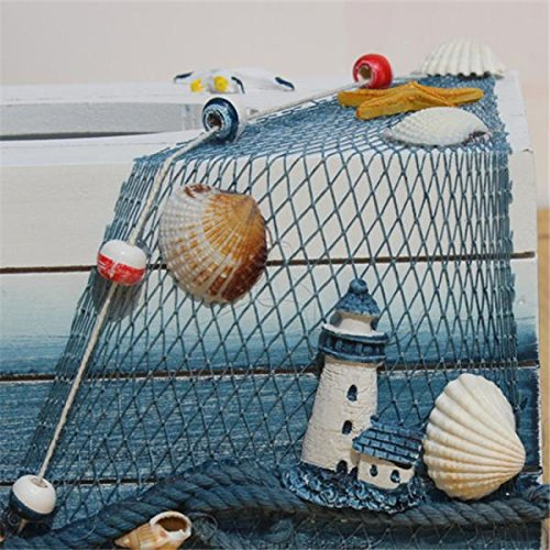 Nautical seagull tissue box holder beachfront decor - Beach themed tissue box cover ...