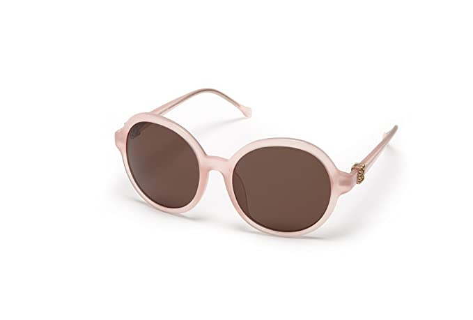 Loewe SLW949G5704G9 Gafas de sol, Shiny Opaline Pink, 57 ...