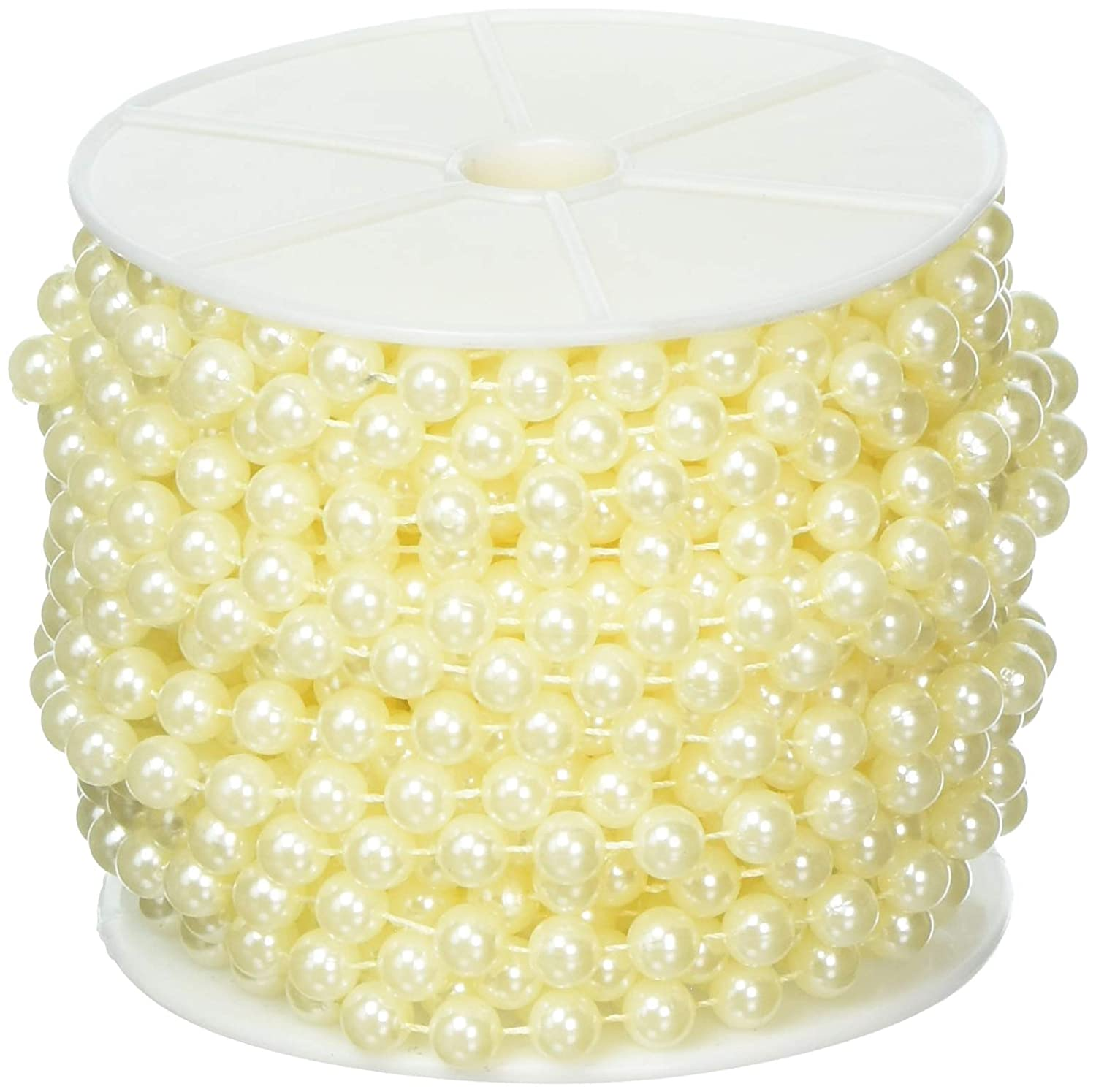 Science Purchase Large Pearls Faux Crystal Beads by The Roll, 10mm, Ivory 78BW2406045