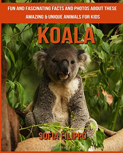 Koala: Fun and Fascinating Facts and Photos about These Amazing & Unique Animals for Kids PDF