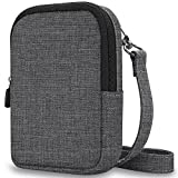 Fintie Protective Case for Kodak PRINTOMATIC Digital Instant Print Camera - Premium Fabric Soft Pouch with Removable Strap, Denim Charcoal