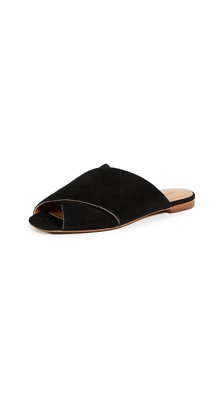 Rebecca Minkoff Women's Anden Peep Toe Flats B07B2DCH21 8 B(M) US|Black