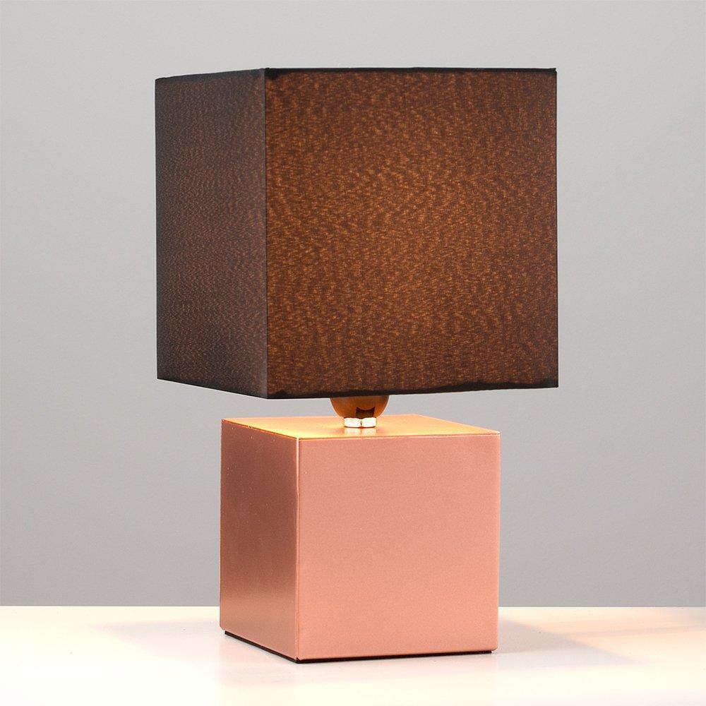 MiniSun - Lámpara de mesa moderna y táctil Cubbie - con innovadora base de estilo cubo