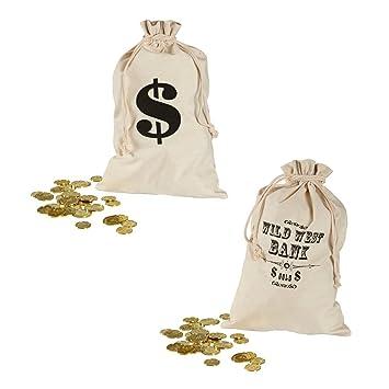 Bolsa botín ladrón de banco monedero de tela dólar ladrón ...