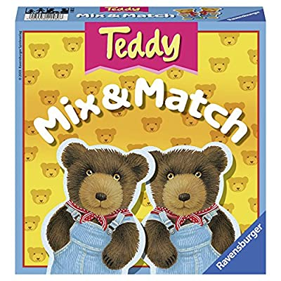 Ravensburger Teddy Mix & Match - Children's Game: Toys & Games