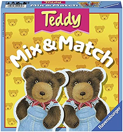 Ravensburger Teddy Mix & Match - Children's Game